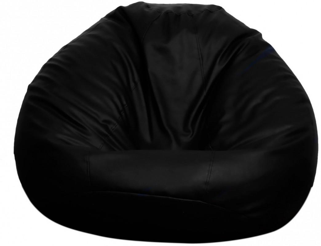 View Opulence Lounger XXXL Bean Bag Cover(Black) Furniture (Opulence Lounger)