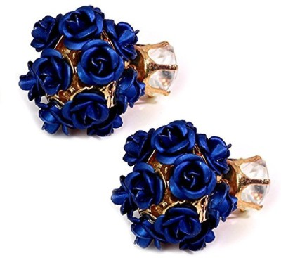 Jewels Galaxy Luxuria Cubic Zirconia Alloy Earring Set at flipkart