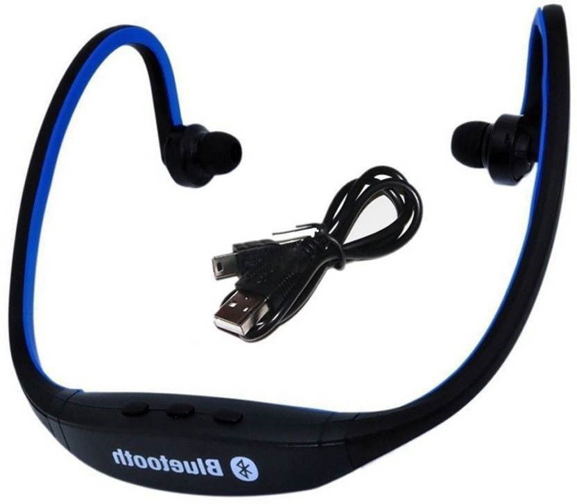 KLIKX BS19C-BT12 Wireless Bluetooth Headset With Mic(Multicolor)