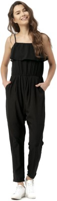 Dressberry Solid Women's Jumpsuit at flipkart