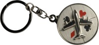 Oyedeal 360 Degree Rotating Aeroplane Key Chain(Multicolor)