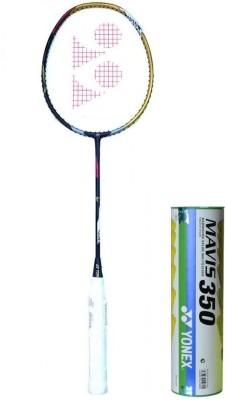 Yonex Voltric LD 200 Premium Gold & Mavis 350 Badminton Kit