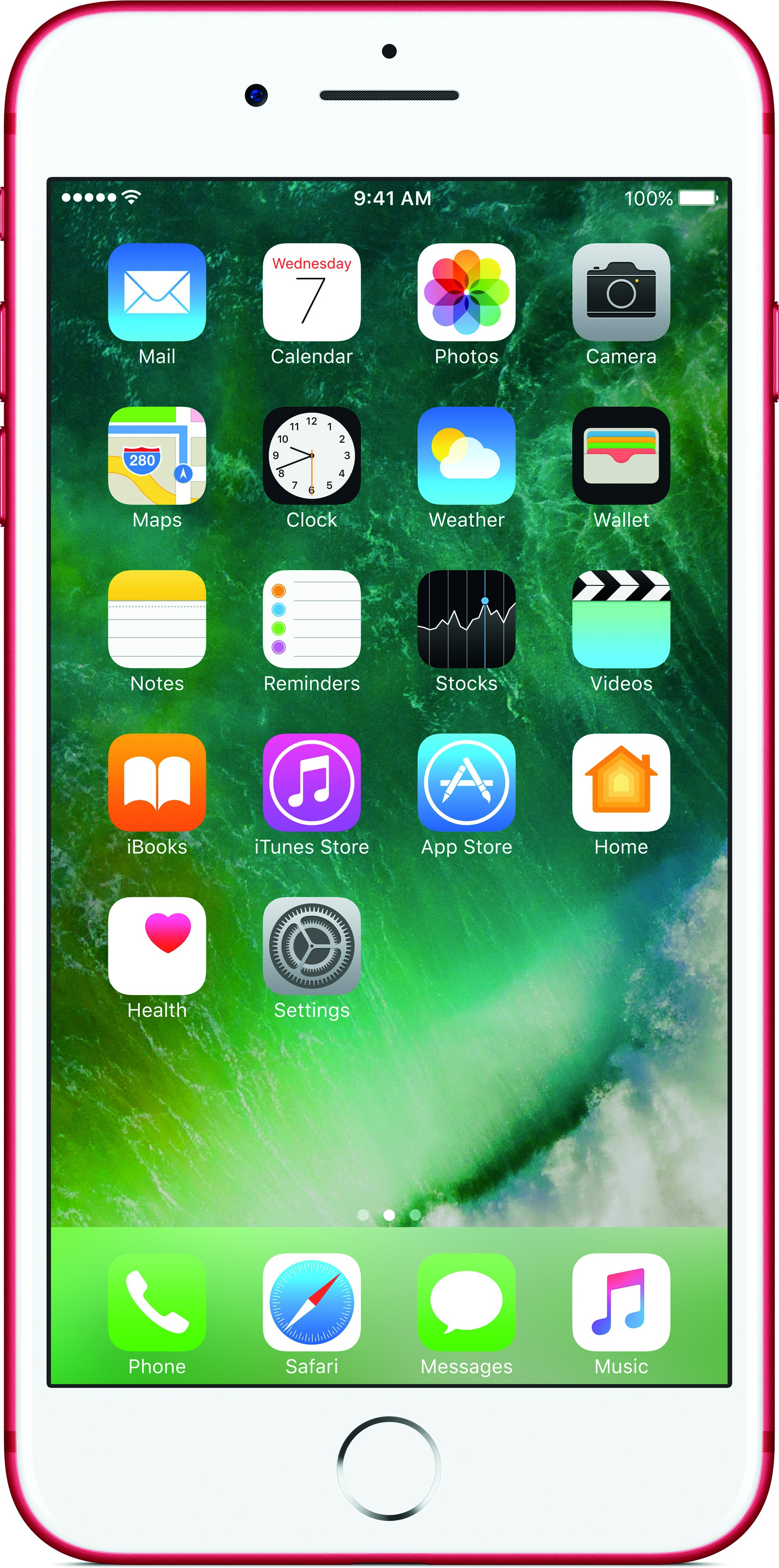 View Apple iPhone 7 (Red, 128 GB) Mobile Price Online(Apple)