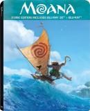 Moana - 3D Blu Ray Steelbook (3D Blu-ray...