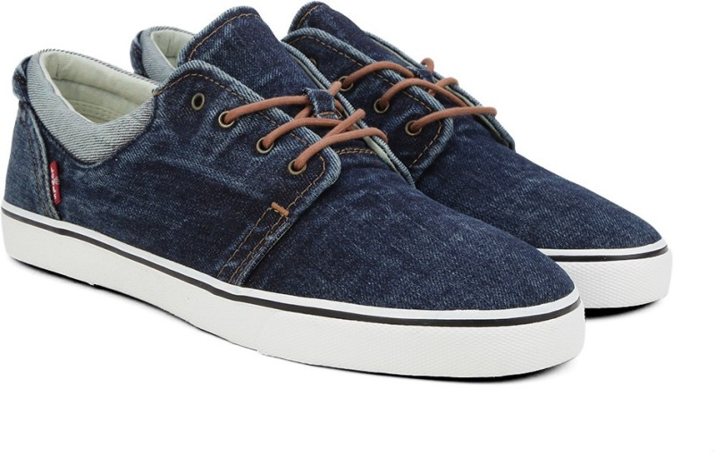 Levi's Original Red Tab Derby Sneakers(Blue)