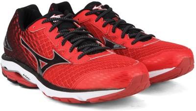 Mizuno WAVE RIDER 19 Running Shoes(Red) at flipkart