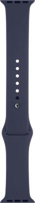 i10 42mm mMdnight Blue Silicon Smart Watch Strap(Blue)