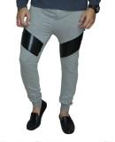 Body Tantrum Solid Men's Grey Track Pant...