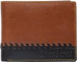 Longhorns Men Tan Genuine Leather Wallet...
