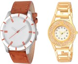Keepkart Stylish Combo Couple Watches 75...