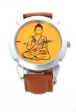 Rise N Shine Lord Buddha Dial Brown Belt...