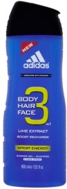 Adidas 3 in 1 Lime Extract(400 ml)