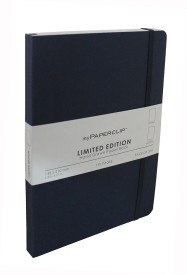 Mypaperclip A5 Notebook(192 Plain Pages Limited Edition, Imperial)