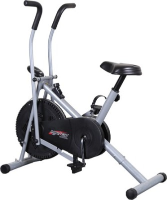 Deemark AIR BIKE 2001 FITNESS EXERCISE CYCLE DUAL ACTION WEIGHT LOSE Indoor Cycles Exercise Bike(Black, Grey)