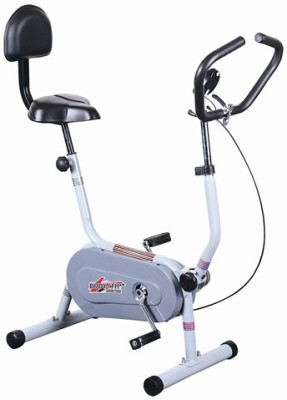Deemark Exercise cycle bgc 204 fitness bike best quality for home use time,speed Indoor Cycles Exercise Bike(Black, Grey)