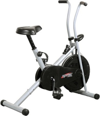 Deemark AIR BIKE 1001 FITNESS EXERCISE CYCLE DUAL ACTION WEIGHT LOSE Indoor Cycles Exercise Bike(Black, Grey)