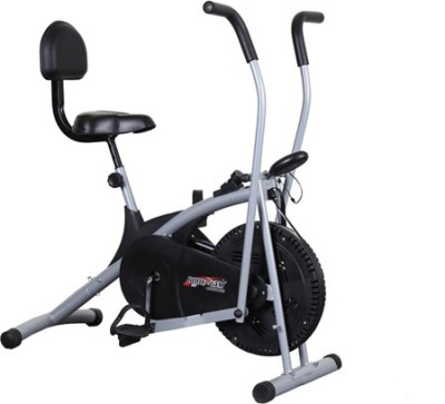 Deemark STAMINA CYCLE WITH BACK SUPPORT FITNESS BIKE FOR HOME USE� Indoor Cycles Exercise Bike(Black, Grey)
