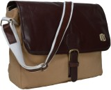 OTLS Messenger Bag (Beige, Brown)