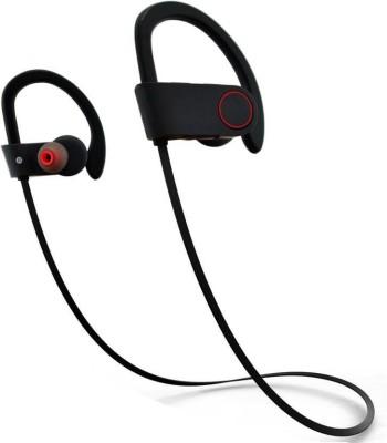 CROSSBEATS RAGA V2 Wireless Headphones Stereo Dynamic Headphones bluetooth Headphones(Black, In the Ear)
