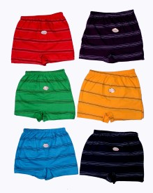 Esteem Brief For 0 - 6 Months(Multicolor Pack of 6)