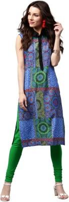 Libas Printed Women's Straight Kurta(Multicolor) at flipkart