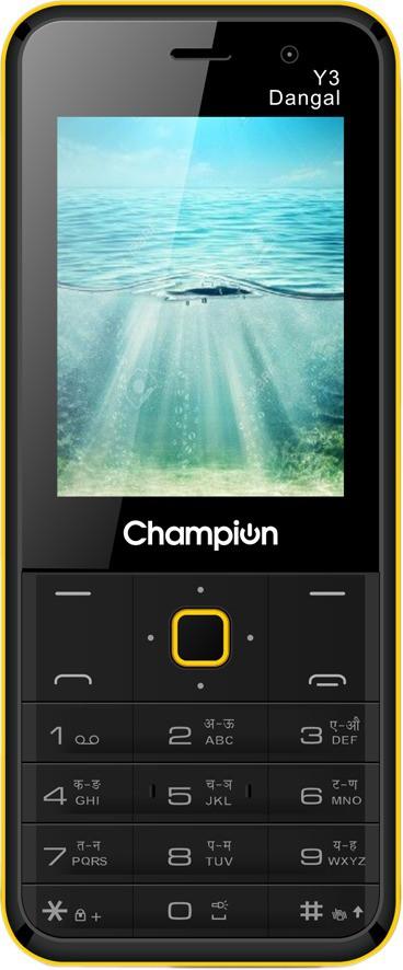 View Champion Y3 DANGAL(Black, Yellow)  Price Online