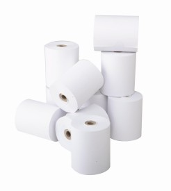 MST Thermal Plain 79mm x 50 Mtrs Length Thermal Paper(Set of 1, White)