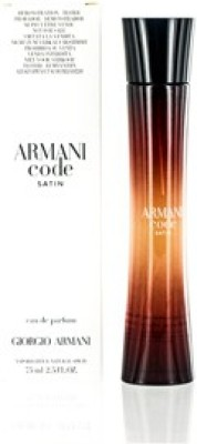 Giorgio Armani Code Satin/1 Edp 2.5 Oz(W)Edp Eau de Parfum - 75 ml(For Men & Women)