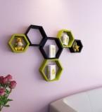 Khan Handicrafts MDF Wall Shelf (Number ...
