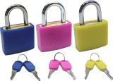 Povo Colorful Luggage Lock 305147 Safety...