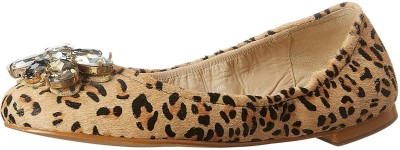 SAINT G Women's Leather Ballet Flats Bellies(Multicolor) at flipkart