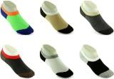 Shree Vallabh Men's No Show Socks (Pack ...