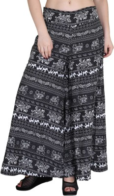 Kannan Regular Fit Women's Black Trousers at flipkart