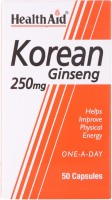HealthAid Korean Ginseng 250mg(50 No)