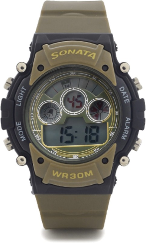 Sonata 77006PP01 Watch For Men