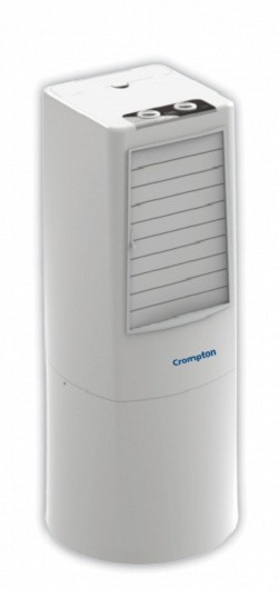 View Crompton cozie-T34 cozie Tower Air Cooler(White, 34 Litres)  Price Online