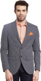 Envoy Solid Single Breasted Casual Men's...