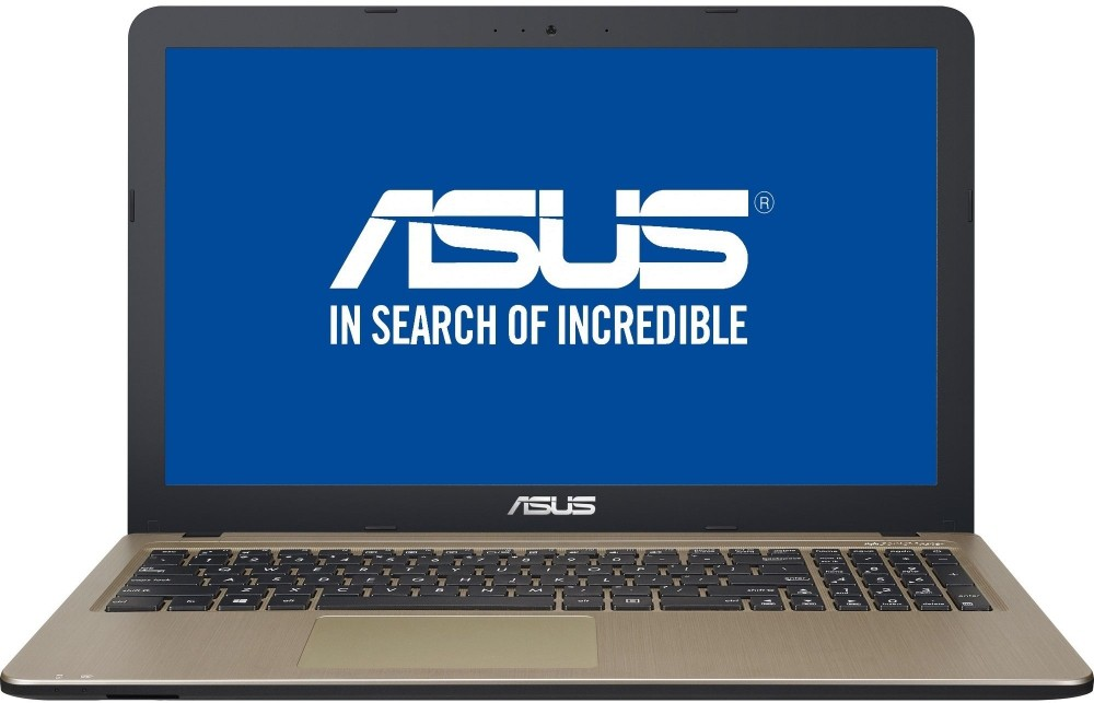 View Asus X Series Celeron Dual Core 6th Gen - (4 GB/500 GB HDD/DOS) 90NB0B31-M15970 X540SA-XX311D Notebook(15.6 inch, Chocolate Black IMR With Hairline, 1.9 kg) Laptop