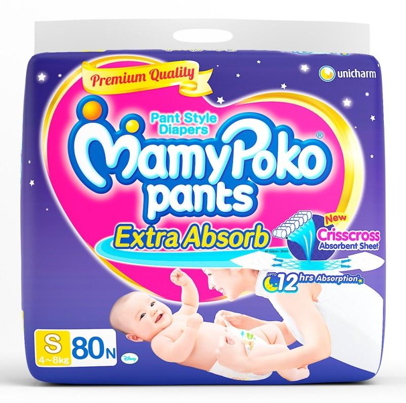 MamyPoko Pants - S(80 Pieces)