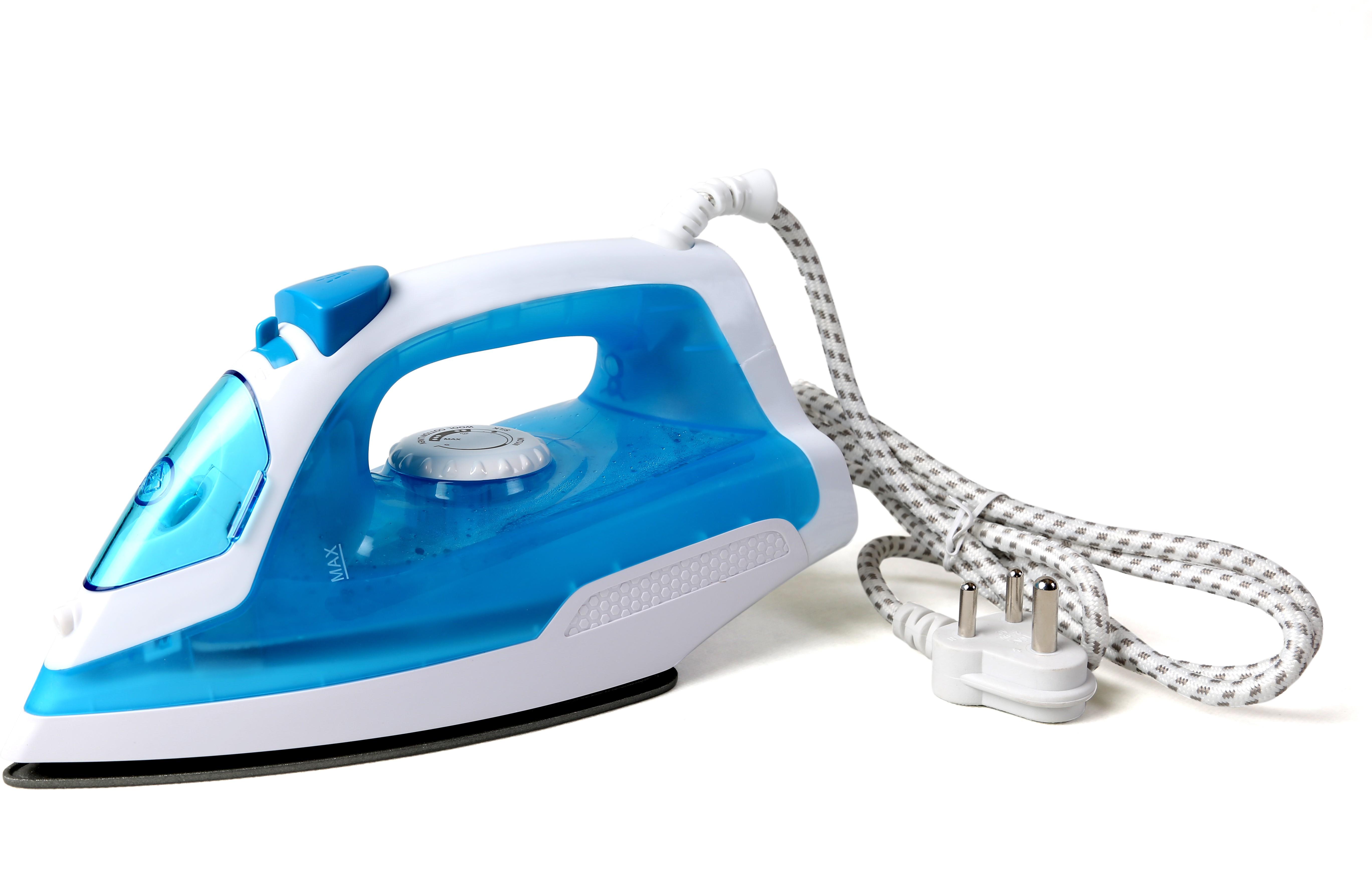 View Clearline JET LITE STEAM Steam Iron(Blue) Home Appliances Price Online(Clearline)