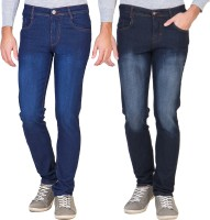 Vats Jeans (Men's) - vats Slim Men's Multicolor Jeans(Pack of 2)