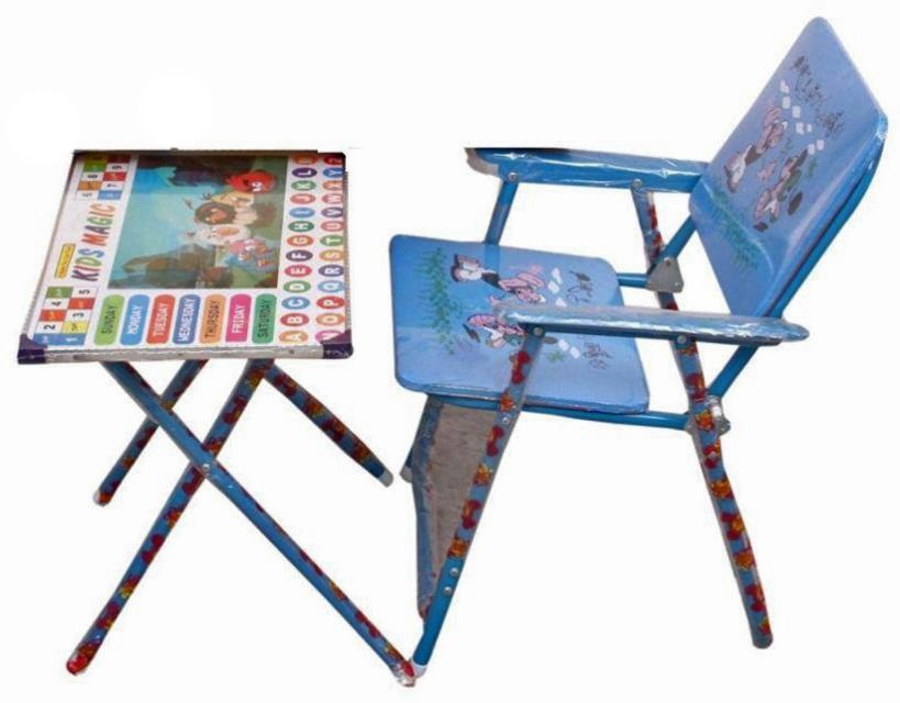 View Whinsy Solid Wood Activity Table(Finish Color - Blue) Furniture (Whinsy)