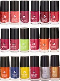 Aroma Care Mab Quick Dry Nail Polish Set Of 18 Pcs ( Modern Shades) 0704201731 Multicolor Set-0704201731(108 ml, Pack of 18)