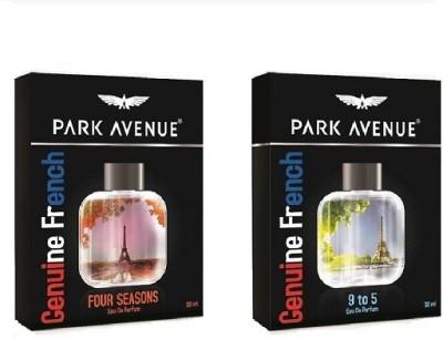 Park Avenue FOUR SEASONS and 9 to 5 combo Eau de Parfum - 100 ml(For Men)
