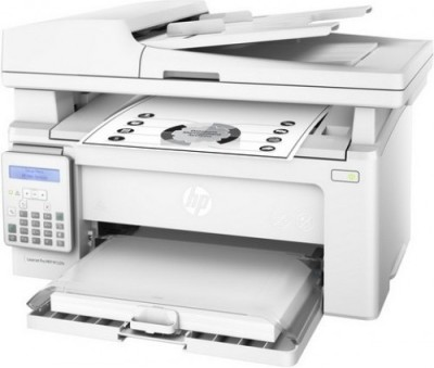 HP LaserJet Pro MFP M132fn Multi-function Printer(White)
