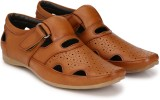 Ferraiolo Men Matte Tan Sandals
