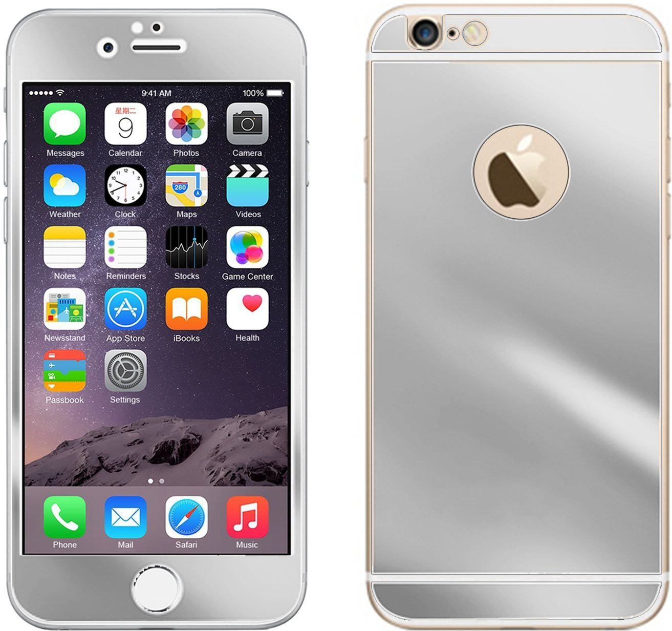 STYLECLUES Front & Back Protector for Apple iPhone 6 Plus