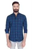 Lsd Casuals Men's Checkered Casual Blue ...
