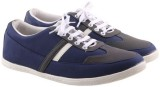 Mobiroy Canvas Shoes (Blue, Grey)