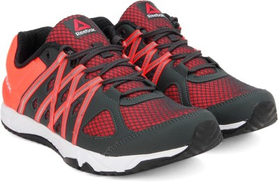 Reebok METEORIC RUN Running Shoes(Red, White)